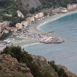 Monterosso al Mare vista da Punta Mesco
