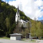 Chiesa lungo la ciclabile
