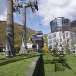 Tirana: il Monte Dajti
