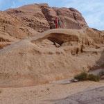 Piccolo arco nel Wadi Rum