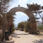 Il Campeggio a Lampedusa