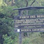Siamo nel parco del Beigua