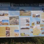 Cartelli esplicativi al Passo della Gava