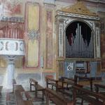 Santuario Madonna di Soviore: organo del 1834