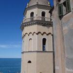 Vernazza: il campanile