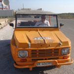 Tutte le Citroen Mehari sono sull'Isola di Lampedusa