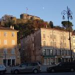 Il Castello visto da Piazza della Vittoria