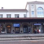 La stazione F.S. di Bolzano