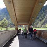 Il nuovo ponte ciclabile sulla Drava