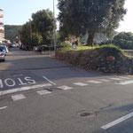 Si gira a Terralba (frazione di Arenzano) e si sale su via pecorara