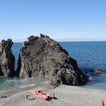 Monterosso al Mare: la spiaggia