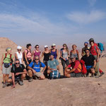 Foto del gruppo al Burdah Arch