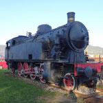 Una locomotiva costruita in Italia