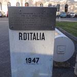Il vecchio confine lato italiano