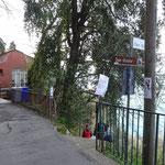 La deviazione per San Nicolò e Punta Chiappa