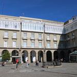 033_A Coruña_Plaza Maria Pita-i portci