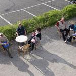 Tirana: in attesa della telecabina per il Monte Dajti