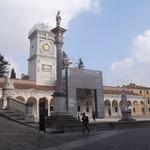 Porticato di San Giovanni e torre dell' Orologio