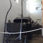La sala delle carrozze