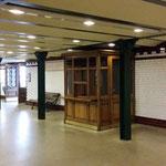 Una stazione storica della linea uno la più antica d'Europa