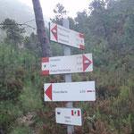 "Primo bivio in località ""Gazeu"" 290 m"