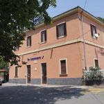 La stazione ferroviaria di Acquasanta