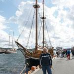 Il vascello che ci ha portato nel fiordo di Oslo