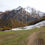 Verso Lillaz, sul sentiero