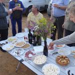 Tirana: agricamping Albania - aperitivo