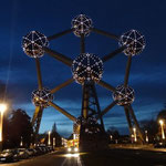 Bruxelles - Atomium by night