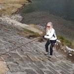 La risalita della diga del lago di Pianboglio