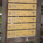 Segnaletica del Parco Nazionale del Gran Paradiso