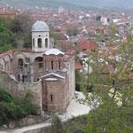 Prizren: salita alla fortezza