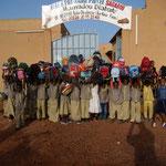 September 2010: Die ersten SchülerInnen