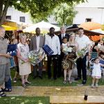 Botschafter von Burkina Faso & Bürgermeister von Neumarkt mit den Organisatoren
