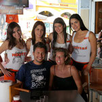 "always good to keep the ""Hooters"" visit count in tact - Cancun, Mexico"