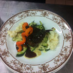 Rindsfilet mit Champagnerrisotto