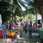 Markt am Strand