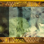 Klimt Photo works by Chikako Mizukoshi with my embroidary