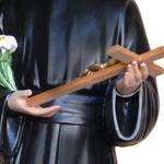 statua San Gerardo cm 127 - mani