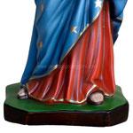 statua Madonna delle Grazie cm 65 - base