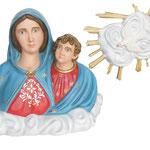 busto Madonna dell' Arco cm 80