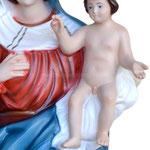 statua Madonna delle Grazie cm 65 - mani