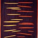 SCHNITTE, 2018, textile Arbeit, Susanne Lämmerhirt-Brey