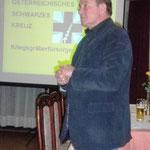 Das Schwarze Kreuz in Russland-von und mit Präs. Peter Rieser