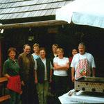 Grillen auf der Steinkellner-Hütte