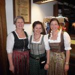 Inge,Elfriede und Christine
