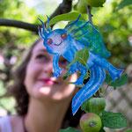 Blue im Apfelbaum