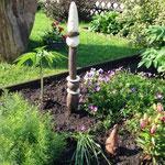 Gartenstelen individualisierbar