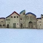 """Wandbild """"Häuser"""""""